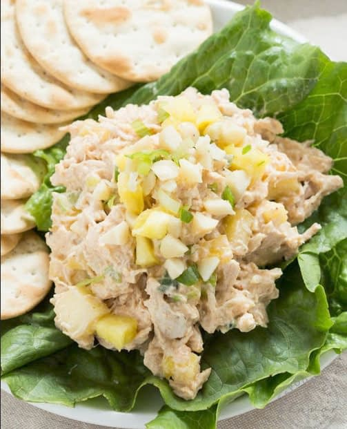 Weight Loss with Chicken Salad